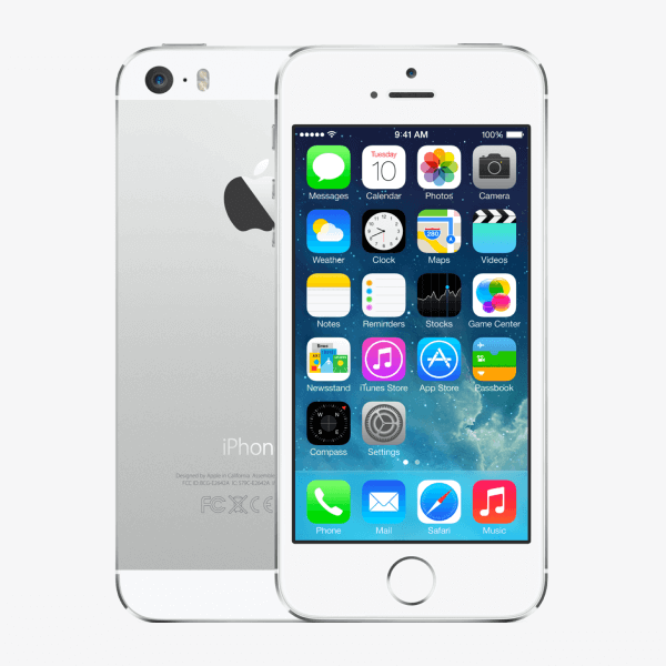 Apple iPhone 5s 16gb wit gebruikt ben telecom leiden
