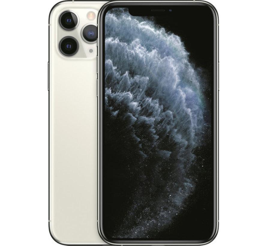 apple-iphone-11-pro-64gb-zilver-nieuw-toestel voor en achterkant
